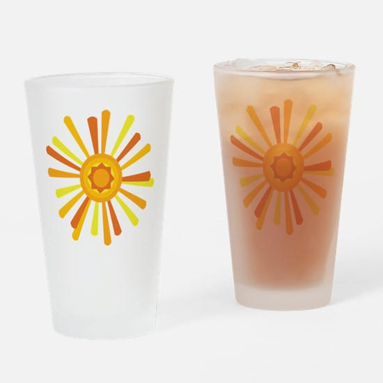 Summer Sun Drinking Glass