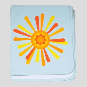 Summer Sun baby blanket