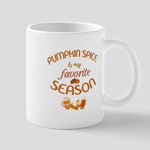 Pumpkin Spice is My Favorite Sea 11 oz Ceramic Mug