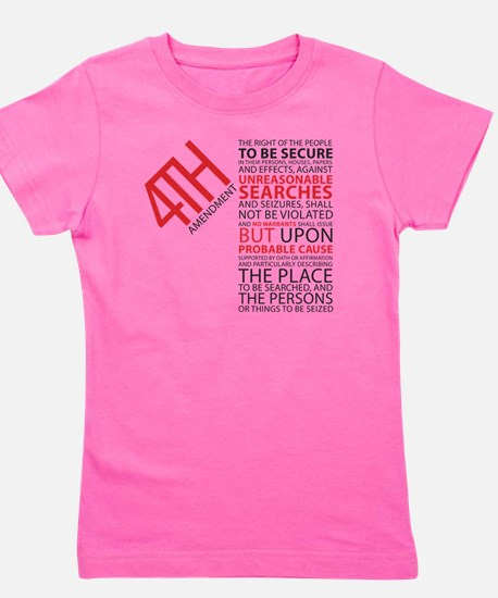 4th Amendment Girl's Tee