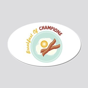 Breakfast Of Champions Wall Decal