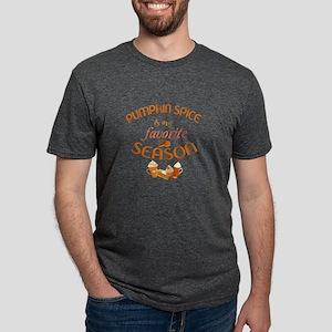 Pumpkin Spice is My Favorit Mens Tri-blend T-Shirt