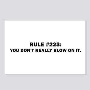 you don't really blow it.  Postcards (Package of 8
