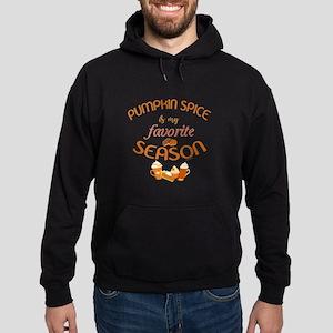 Pumpkin Spice is My Favorite Season Hoodie (dark)