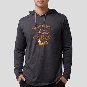 Pumpkin Spice is My Favorite Sea Mens Hooded Shirt