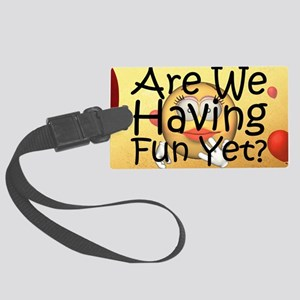 funyet1a Large Luggage Tag