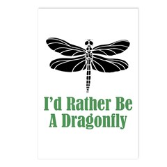 Rather Be A Dragonfly Postcards (Package of 8)