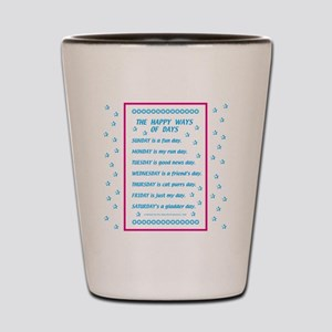 Days of the Week Shot Glass
