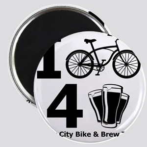 I Bike 4 Beer Magnet