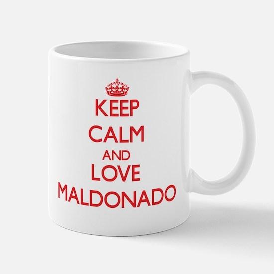 Keep calm and love Maldonado Mugs