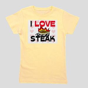 I Love Steak T-Shirt