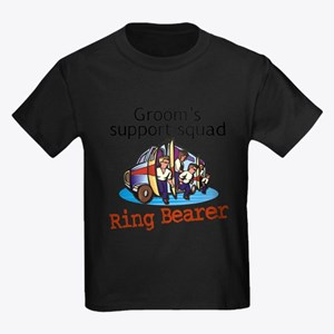 Grooms Squad Ring Bearer T-Shirt