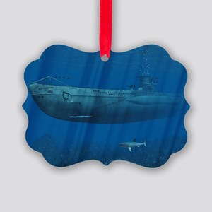 l_cutting_board_820_H_F Picture Ornament