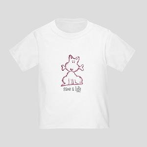 dog & bone Toddler T-Shirt