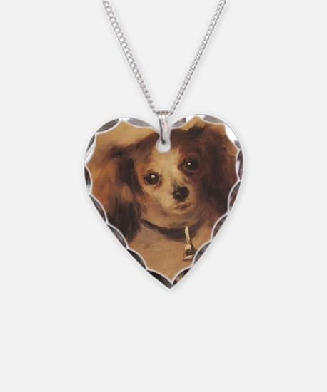 Head of a Dog by Renoir, Vint Necklace