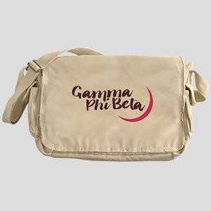 Gamma Phi Beta Moon Messenger Bag