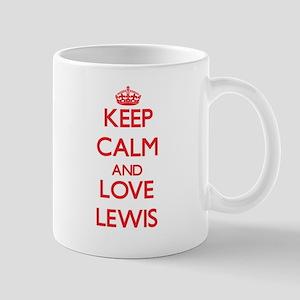 Keep calm and love Lewis Mugs