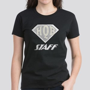 HQB Staff T-Shirt2 Women's Dark T-Shirt