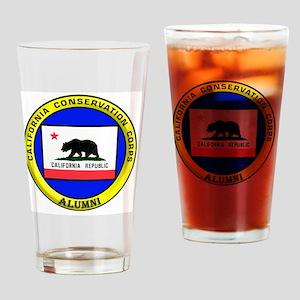 Alumni Historic CCC Logo Drinking Glass
