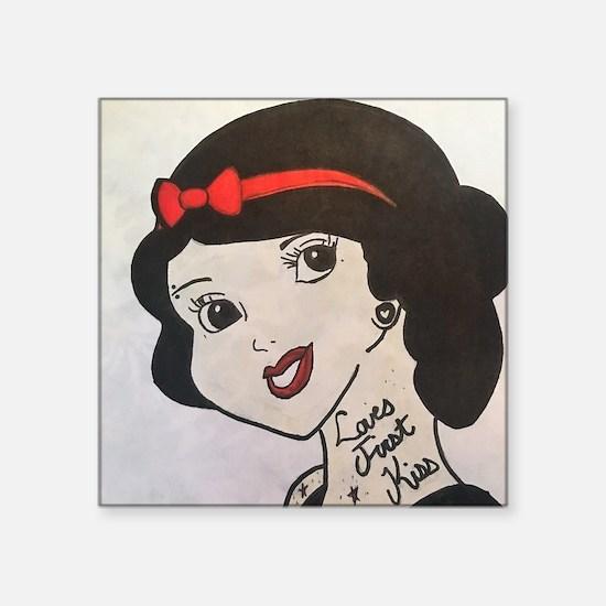 Punk Princess Snow Sticker