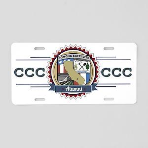 Pomona Alumni Aluminum License Plate
