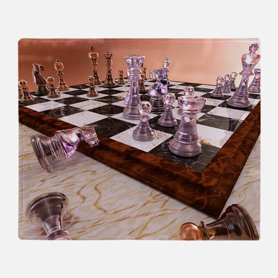 A Game of Chess Throw Blanket