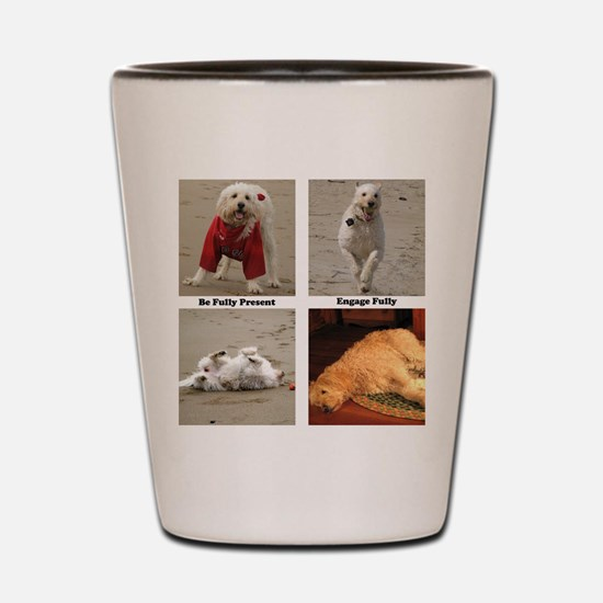 Dog Lessons for People Shot Glass