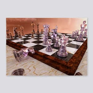 A Game of Chess 5'x7'Area Rug