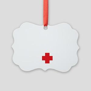 nurse23 Picture Ornament