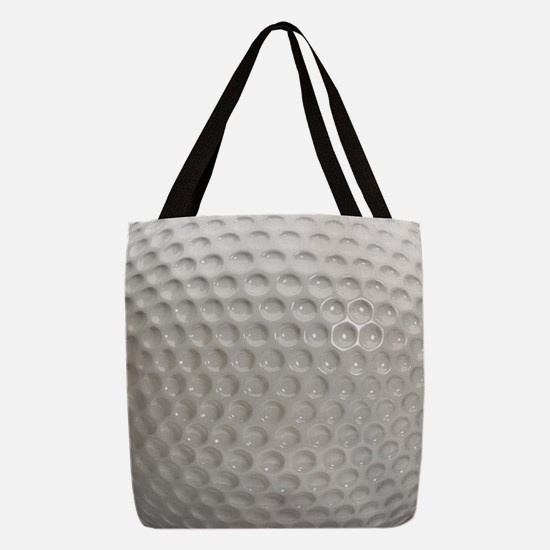Golf Ball Sport Polyester Tote Bag