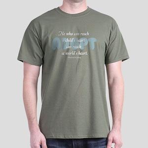Foster Care and Adoption Dark T-Shirt