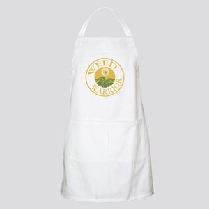 Weed Warrior BBQ Apron