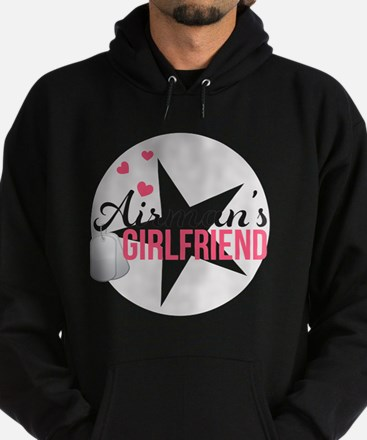 Airmans Girlfriend Hoodie (dark)