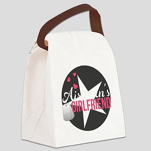 Airmans Girlfriend Canvas Lunch Bag
