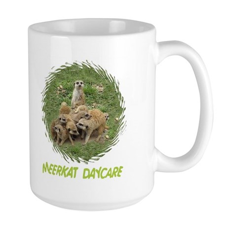 MEERKAT DAYCARE Large Mug
