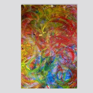 Swirls Postcards (Package of 8)
