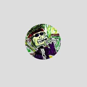 Rock 'n Bones Mini Button