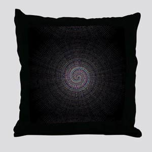 DMT Throw Pillow