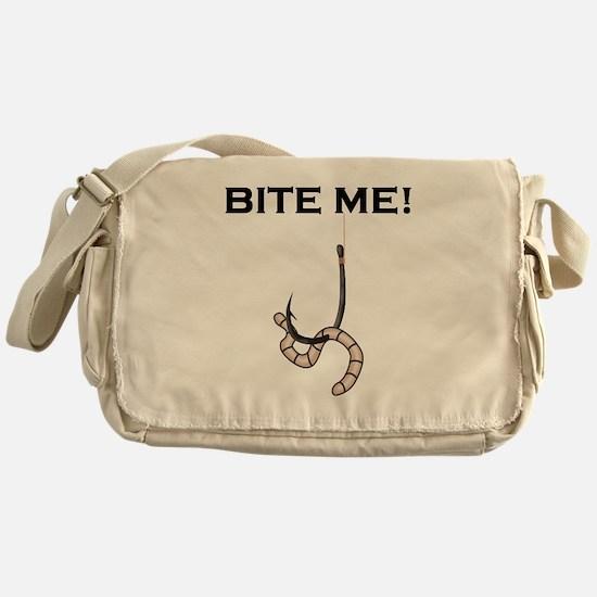 Bite Me! Messenger Bag