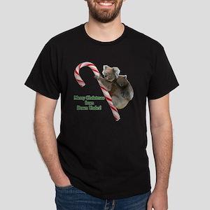 Koalas Merry Christmas from Down Unde Dark T-Shirt