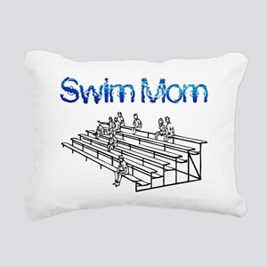 Swim Mom Rectangular Canvas Pillow