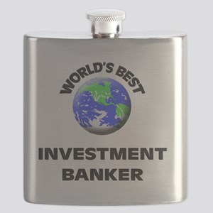 World's Best Investment Banker Flask