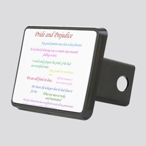 Pride and Prejudice Quotes Hitch Cover