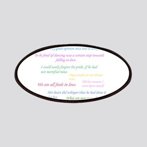 Pride and Prejudice Quotes Patch