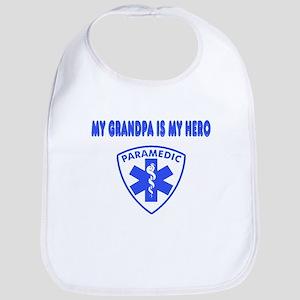 Paramedic Hero-Grandpa Bib