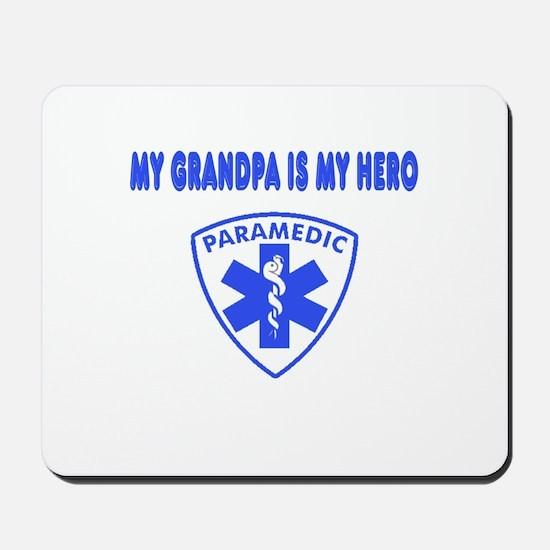 Paramedic Hero-Grandpa Mousepad