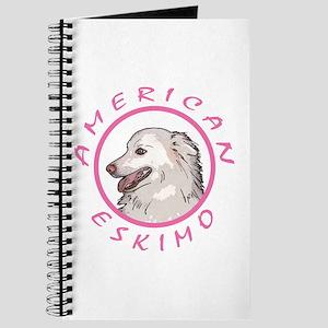 american Eskimo Pink Journal