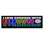 Down syndrome Bumper Sticker