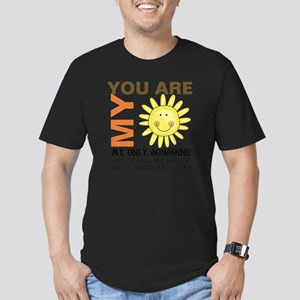 You Are My Sunshine Men's Fitted T-Shirt (dark)