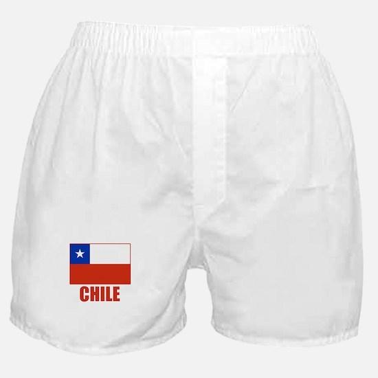 Chile Flag Boxer Shorts